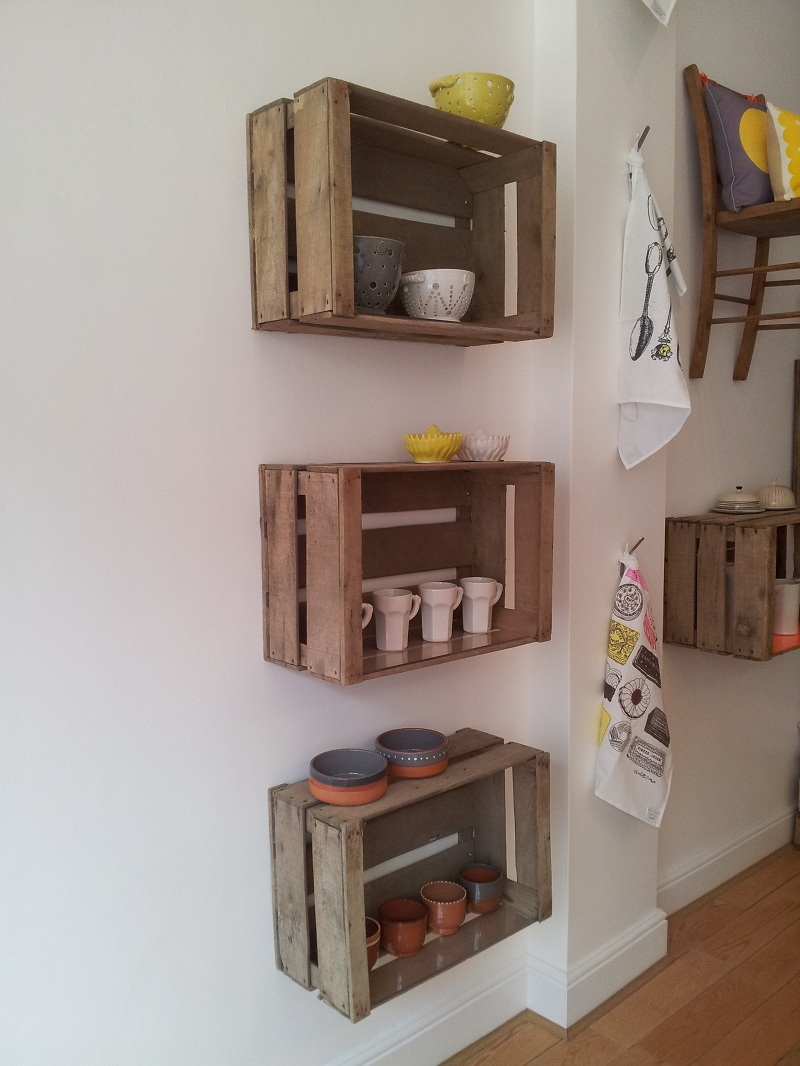 6 Ways To Use Wooden Crates Modern Vintage Interiors