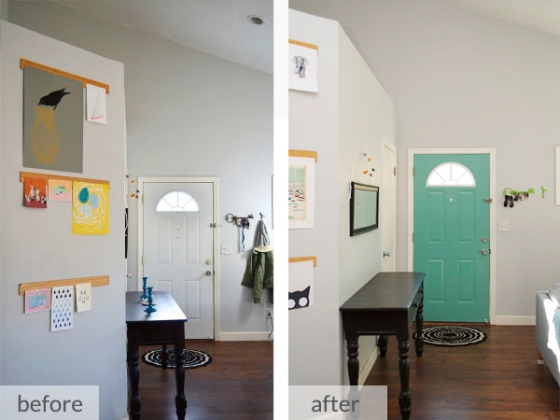 Door Before & After