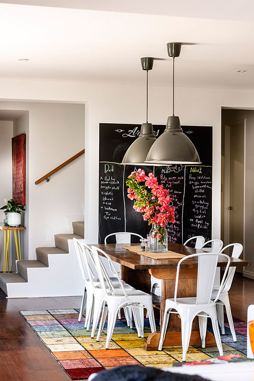 Industrial Rustic Dining Area