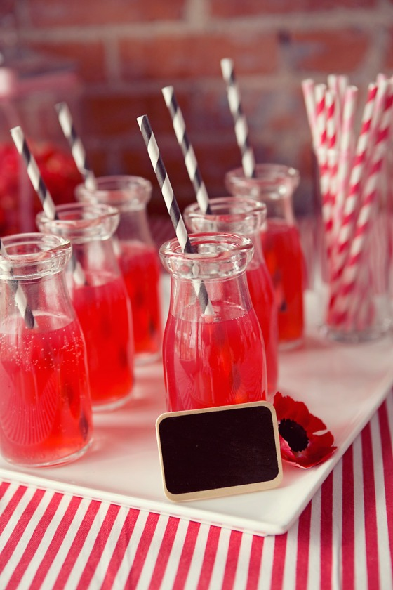 Milk Bottles Straws