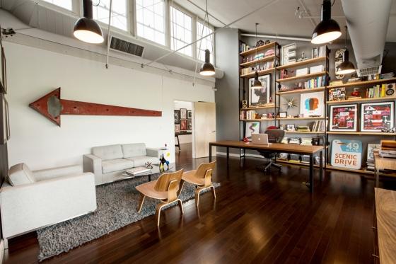 Creative Warehouse Office